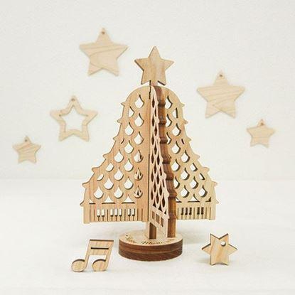 XMAS01 クリスマスピアノツリー の画像