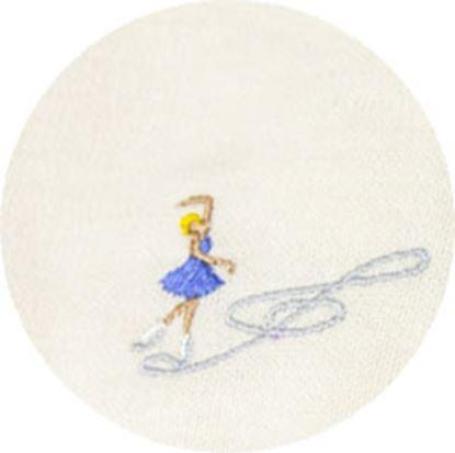 シンギングマスク ホリデー刺繍 フィギュアスケート の画像