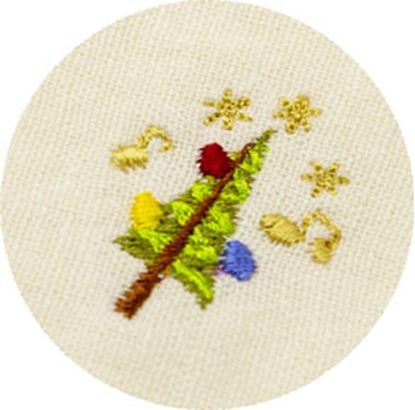シンギングマスク ホリデー刺繍 ツリー の画像