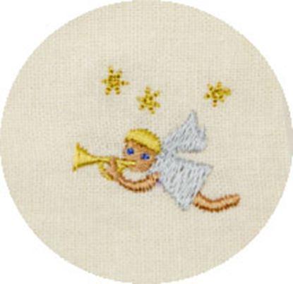 シンギングマスク ホリデー刺繍 天使 の画像
