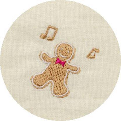 シンギングマスク ホリデー刺繍 ジンジャークッキー の画像
