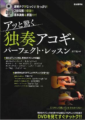 アッと驚く 独奏アコギ・パーフェクト・レッスン DVD付 の画像