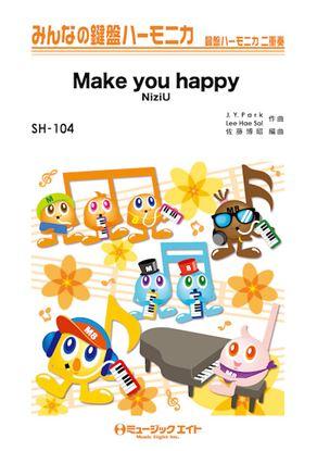 SH104 みんなの鍵盤ハーモニカ Make you happy/NiziU の画像