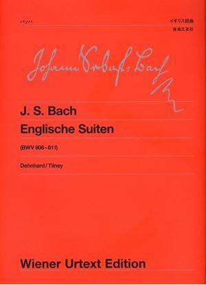 ウィーン原典版060 バッハ/イギリス組曲(BWV806-811) の画像
