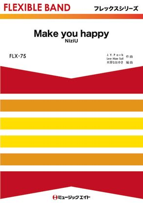 FLX75 Make you happy/NiziU の画像