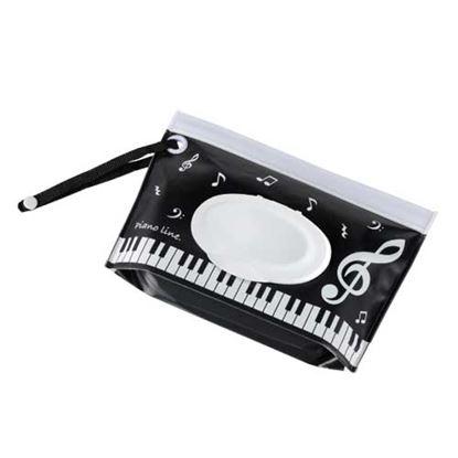Piano line ウェットティッシュケース(音符) の画像
