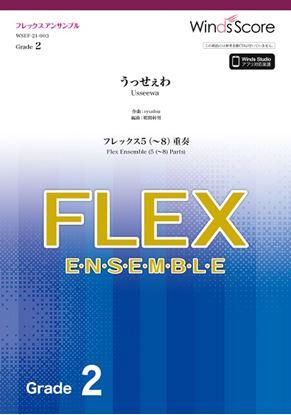 フレックスアンサンブル楽譜 うっせぇわ(フレックス5(~8)重奏) の画像