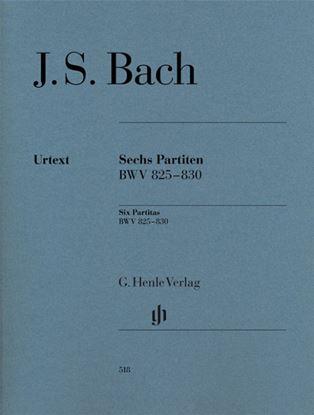 (28)バッハ 6つのパルティータ BWV 825-830/原典版 の画像